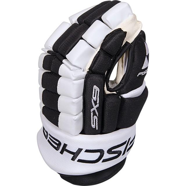 Hokejové rukavice Fischer SX9 - Elbe.sk 4539b737988
