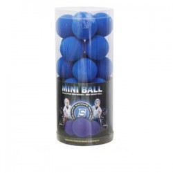 Penové loptičky - Mini Soft Balls Blue Sports